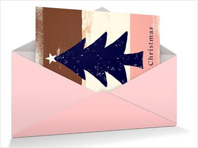 キヤノンが提供するおしゃれなクリスマスカード