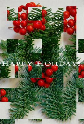 ゴージャスで美しい無料クリスマスカード