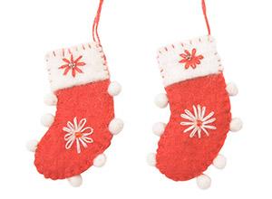サンタクロース・トナカイ・靴下