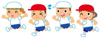 子供たちの感覚や運動能力に合わせた種目にする