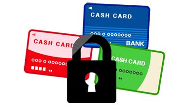 キャッシュカードでは取引が出来なくなります。