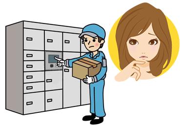 ①受取りサインが必要な郵便物②自宅の郵便受けに入らない郵便物
