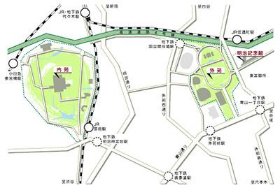 東京市民や国民に望まれて建てられた神宮