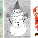クリスマス イラスト 無料でかわいい画像素材 フレームみっけ