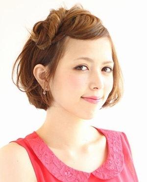 卒園式髪型ショート1