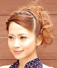 卒業式の髪型4