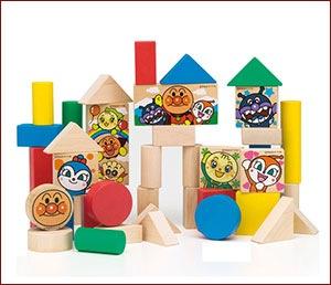 おもちゃ アンパンマンの積木
