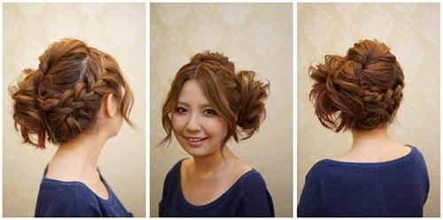 卒業式の髪型3