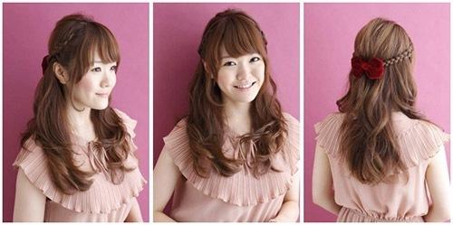 卒業式の髪型5
