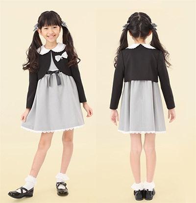 入学式 女の子の子供服1