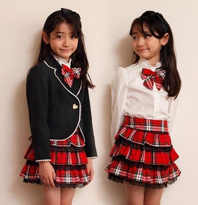 入学式 女の子の子供服4