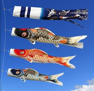 相場的に5万円ならかなりハイグレードな鯉のぼりが…