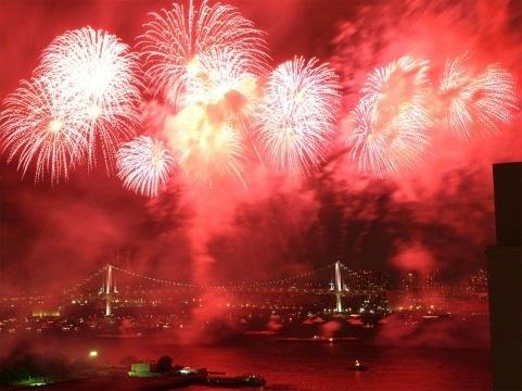 東京湾大華火祭はロケーションも最高!