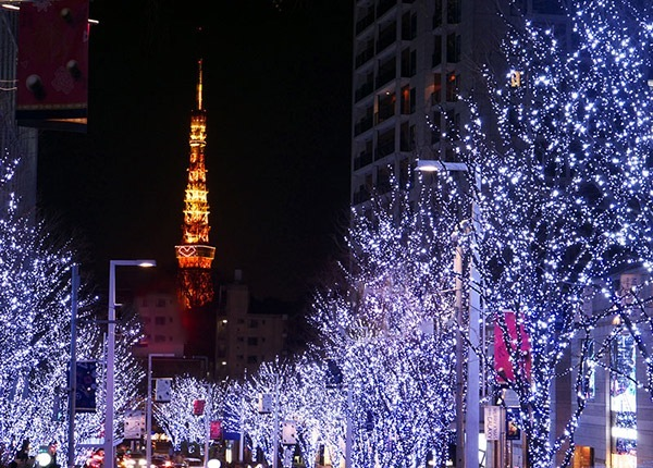 クリスマス イルミネーション 東京の画像2