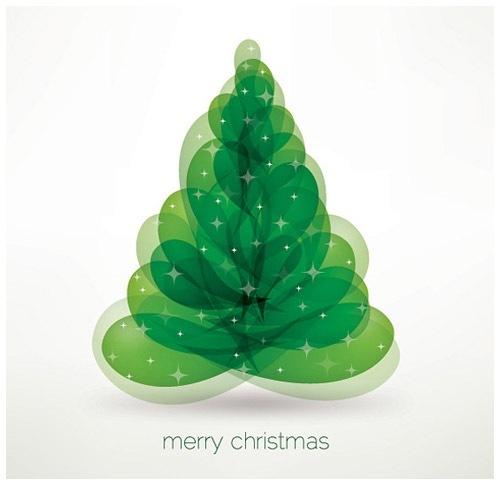 クリスマスのお洒落な無料イラスト 画像06