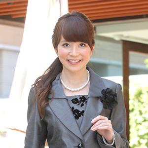 スーツに似合う髪型 ロング1