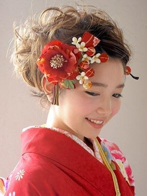 一番人気 成人式定番髪飾り