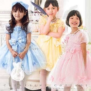 結婚式の女の子供服はレンタルもしています