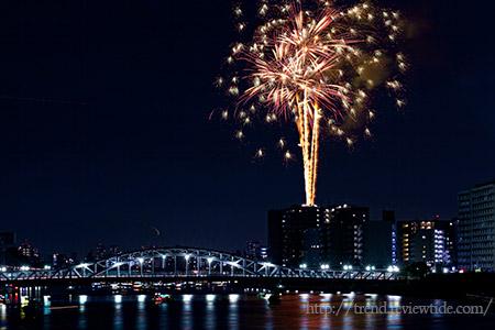 人混みを気にせず2020年隅田川花火大会を楽しんじゃえ