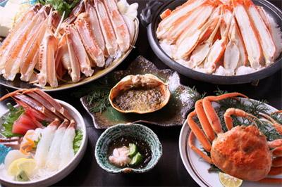 かに旅行in関西★温泉&蟹フルコースの贅沢プラン