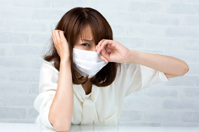 マスクをつけていると「耳が痛い!」という現象