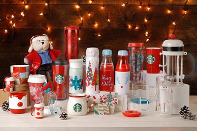 スターバックスコーヒーから2017年も発売されるクリスマス限定グッズ