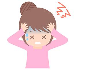 生理で起こる頭痛の原因