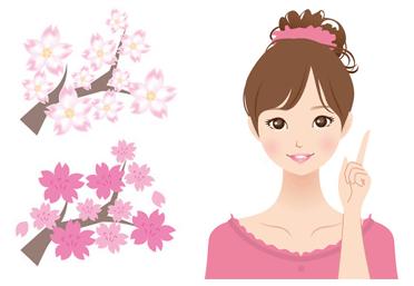 ソメイヨシノより見頃時期が遅い八重桜