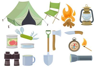 キャンプ道具が無くてもキャンプが楽しめる