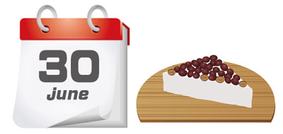 水無月は6月に食べる和菓子