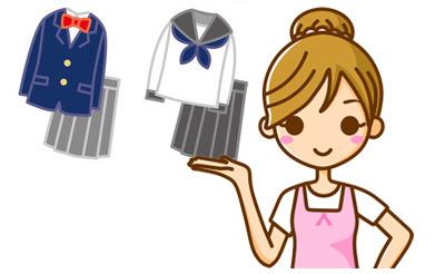 制服の夏服から冬服に切り替わる時期