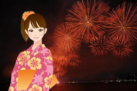猪名川花火大会は毎年8月の第三土曜日に開催されています