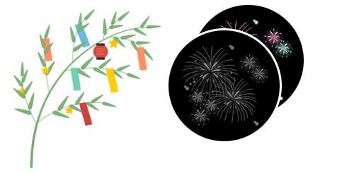平塚の七夕まつりは花火大会ありません。