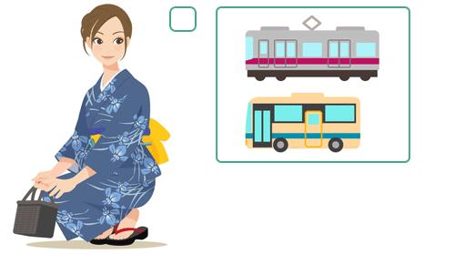 アクセスは自家用車よりも公共交通機関の利用が安心かもしれませんね。