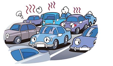 大渋滞を回避する心得