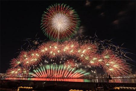 淀川花火大会打上げ時間