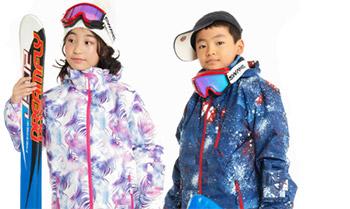 RESEEDAの子供用スキーウェア