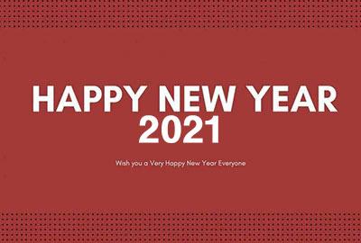 海外の壁紙 New Year 2021