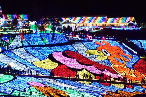 東京ドイツ村イルミネーション開催日程は…見どころは…!?
