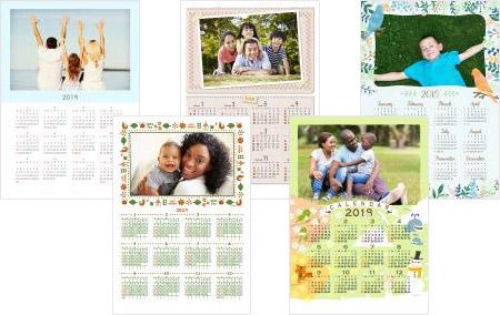 かわいい写真フレームカレンダー