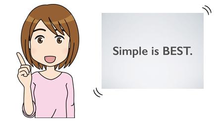 シンプルなビジネス向けのカレンダーを探してきました。