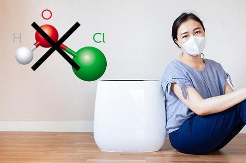 加湿器での次亜塩素酸水の使用…結局できるの?