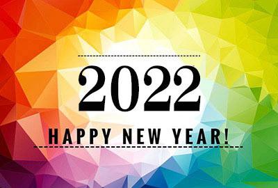 HAPPY NEW YEAR 2022 WALLPAPER